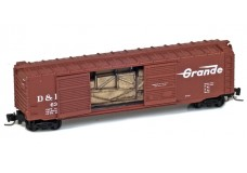 Micro-Trains 50' standard double door boxcar 50600142