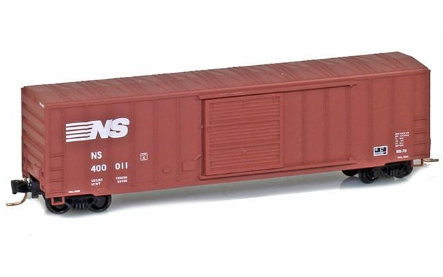 Micro-Trains 50' rib side boxcar 51000461