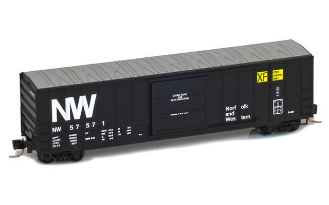 Micro-Trains 50' rib side boxcar 51000481