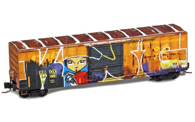 Micro-Trains 50' single door boxcar 51045014