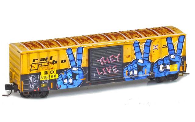 Micro-Trains 50' single door boxcar 51045223
