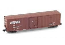 Micro-Trains 50' rib side boxcar FMC plug door no roofwalk 51100040_nb