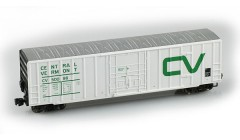 Micro-Trains 50' rib side boxcar FMC plug door no roofwalk 51100062