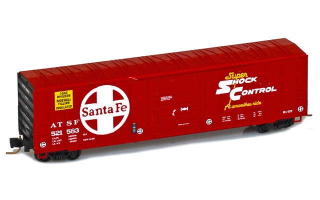 Micro-Trains 50' rib side boxcar with plug door 51100272