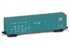 Micro-Trains 50' rib side boxcar with plug door 51100281