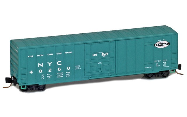 Micro-Trains 50' rib side boxcar with plug door 51100281