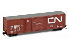 Micro-Trains 50' ribside boxcar with plug and sliding door 51200012