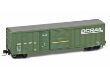 Micro-Trains 50' rib side boxcar with plug & sliding door 51200032