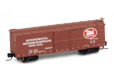 Micro-Trains 40' wood side boxcar 51500130