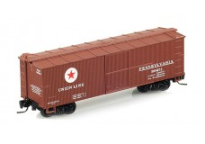 Micro-Trains 40' double sheathed wood boxcar - single door 51500170