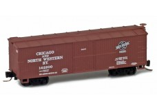 Micro-Trains 40' double sheathed woodside boxcar 51500192