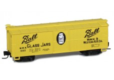 Micro-Trains 40' wood side boxcar 51500202