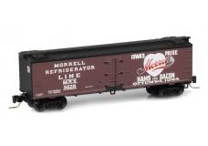 Micro-Trains 40' wood reefer - meat packers series 51800100