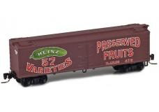 Micro-Trains 40' wood side boxcar 51800470