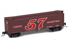 Micro-Trains 40' wood side boxcar 51800490