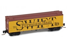 Micro-Trains 40' wood side boxcar 51800582