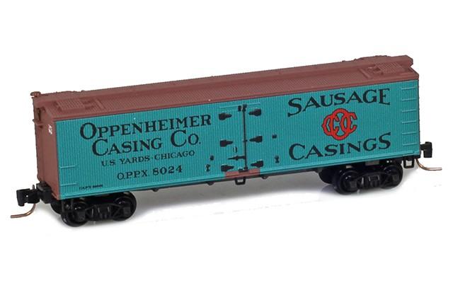 Micro-Trains 40' wood side boxcar 51800692