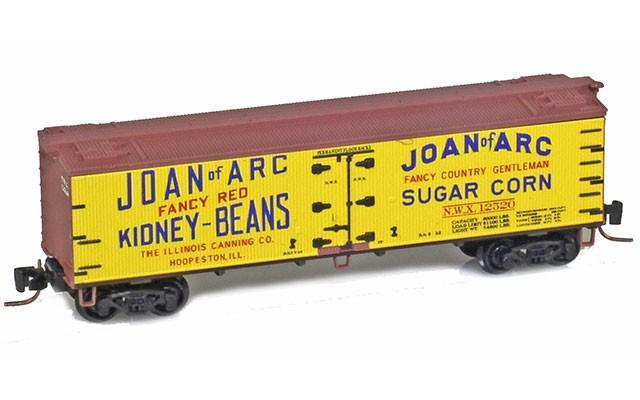 Micro-Trains 40' wood side boxcar 51800720