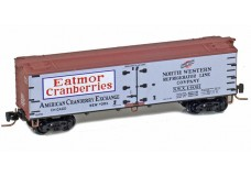 Micro-Trains 40' wood side boxcar 51800730