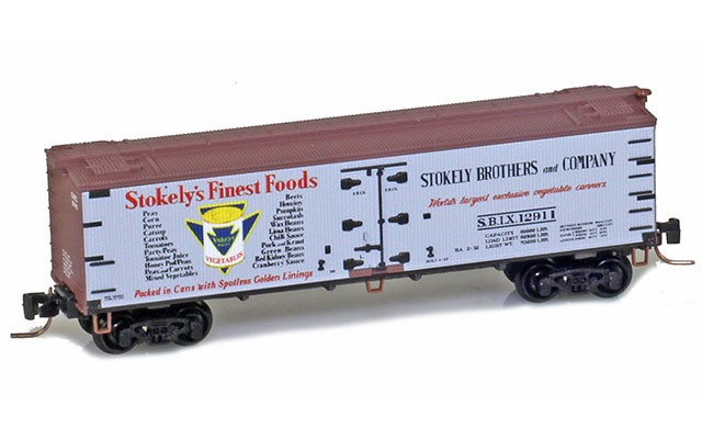Micro-Trains 40' wood side boxcar 51800740