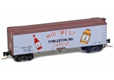 Micro-Trains 40' wood side boxcar 51800780