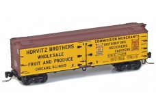 Micro-Trains 40' wood side boxcar 51800810