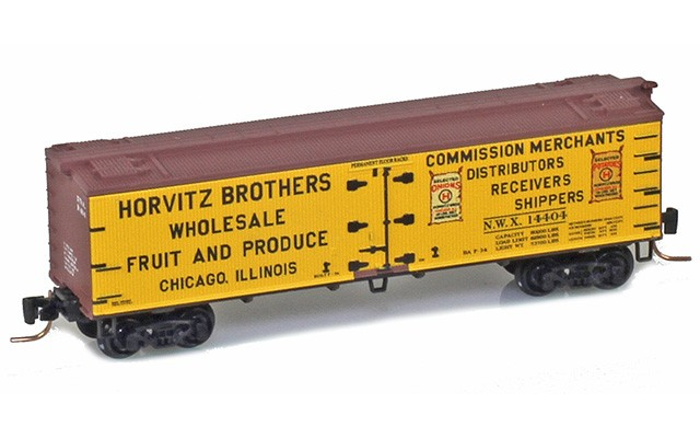 Micro-Trains 40' wood side boxcar 51800810