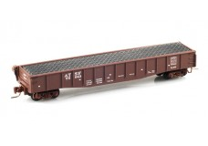 Micro-Trains 50' Fishbelly side gondola with load 52200231