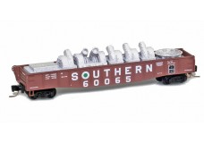 Micro-Trains 50' fishbelly gondola with industrial load 52200371