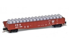Micro-Trains 50' fishbelly gondola with industrial load 52200391