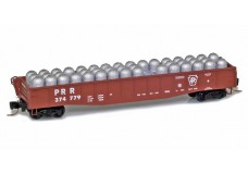 Micro-Trains 50' fishbelly gondola with industrial load 52200392