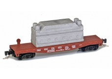 Micro-Trains 40' flat car with load 52500171