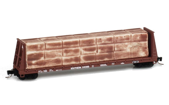 Micro-Trains 60' Buklhead flat car 52700142
