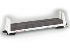 Micro-Trains 60' Bulkhead Flat Car 52700151