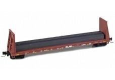 Micro-Trains 60' bulkhead flat car 52700162