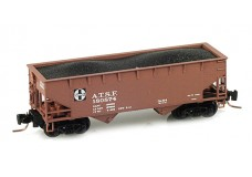 Micro-Trains Offset-side twin-bay hopper 53300011