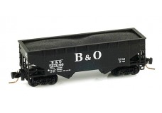 Micro-Trains Offset-side twin-bay hopper 53300021
