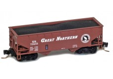 Micro-Trains Two-bay offset-side hopper 53300161