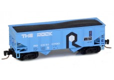 Micro-Trains Two-bay rib-side hopper 53400092