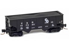 Micro-Trains Two-bay rib-side hopper 53400102