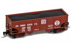 Micro-Trains Two-bay rib-side hopper 53400112