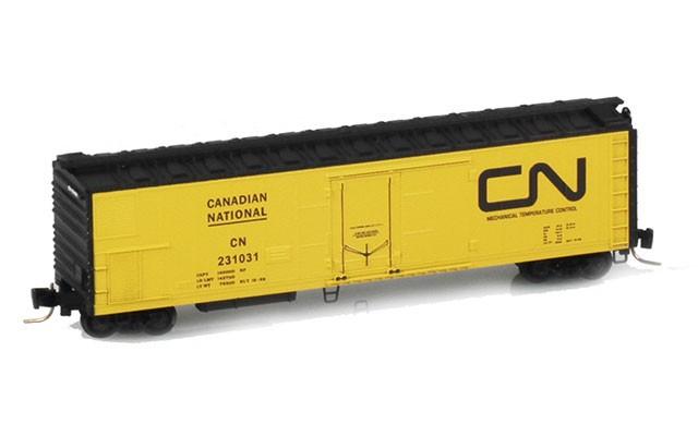 Micro-Trains 51' Rivet Side Mechanical Reefers 54800022