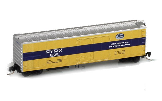 Micro-Trains 51' Rivet Side Mechanical Reefers 54800031