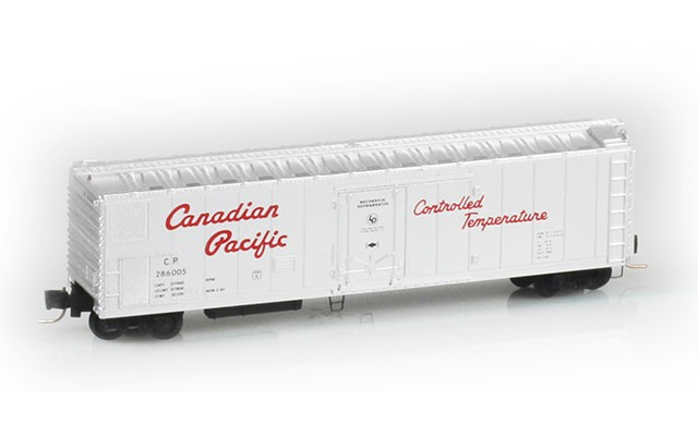 Micro-Trains 51' rivet side mechanical reefer 54800051