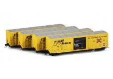 Micro-Trains 50' FMC boxcar set 99400001