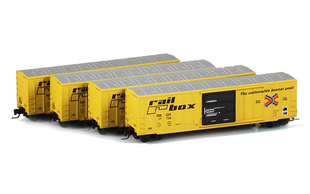 Micro-Trains 50' FMC boxcar set 99400001