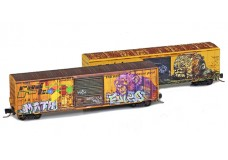 Micro-Trains Railbox Graffiti - Two pack 99405240