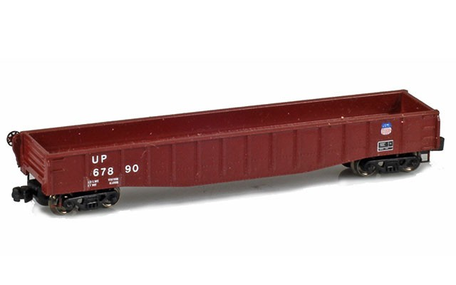 Micro-Trains 50' Gondola fishbelly sides w/drop ends CUST-11470