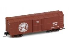 Micro-Trains 40' Double-Sheathed Wood Box Car, Single Door JW10492