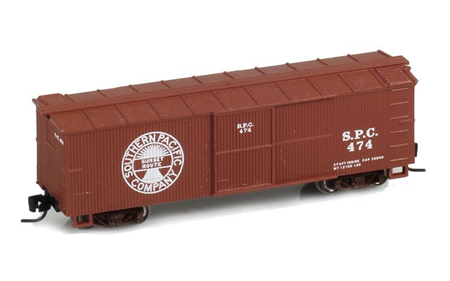 Micro-Trains 40' Double-Sheathed Wood Box Car, Single Door JW10492